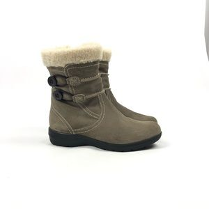 Clarks Bendables Ankle Booties with Side Zip